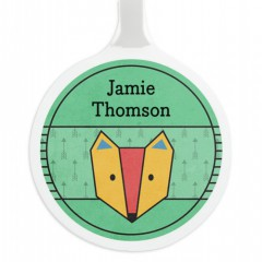 Single Personalised Bag Tag