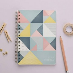 Personalised Lined & Blank Journal