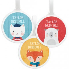 Tinyme Personalised Bag Tag - 3 Pack
