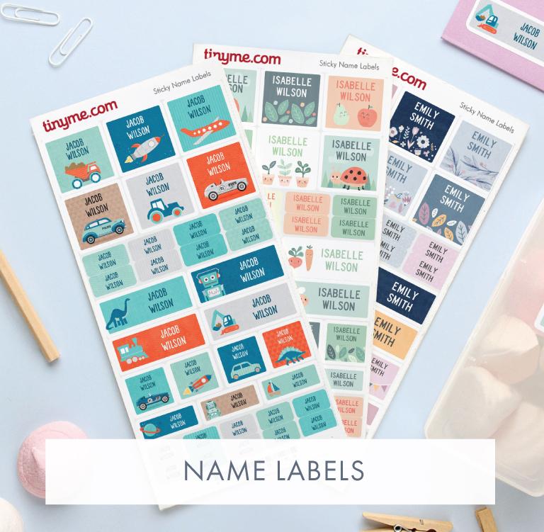 Personalised Name Labels