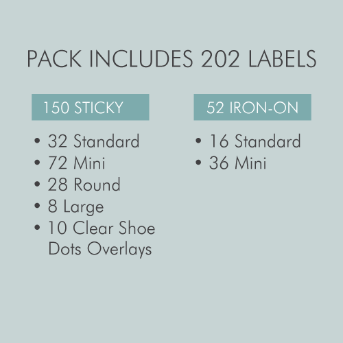 Tinyme Essentials Label Value Pack