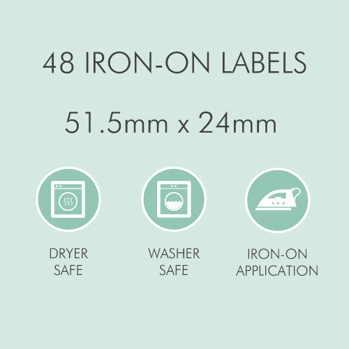 Tinyme Standard Clothing Labels
