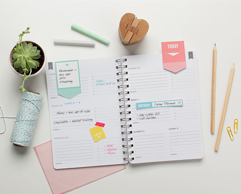 Free Happy Diary Printables from tinyme