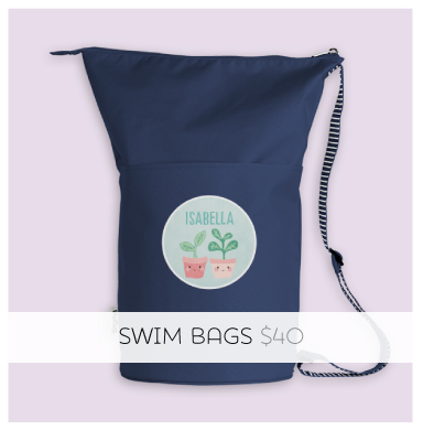 Personalized Swim Bags for Girls