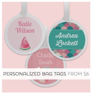 Shop Personalized Bag Tags