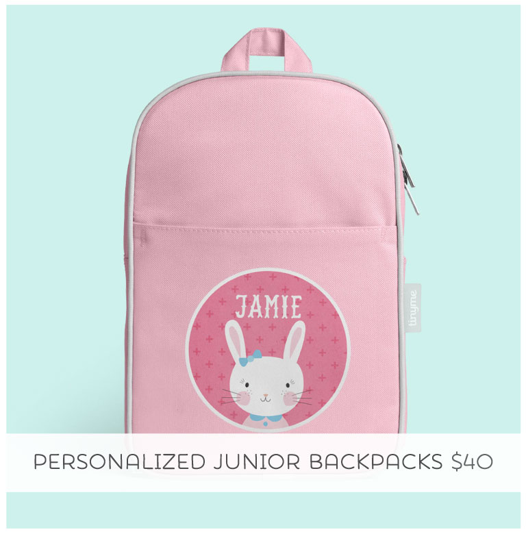 Shop Tinyme Personalized Junior Backpack