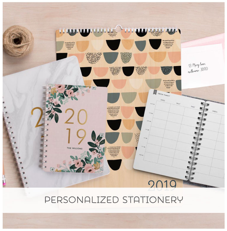 Shop Personalized Stationery from Tinyme