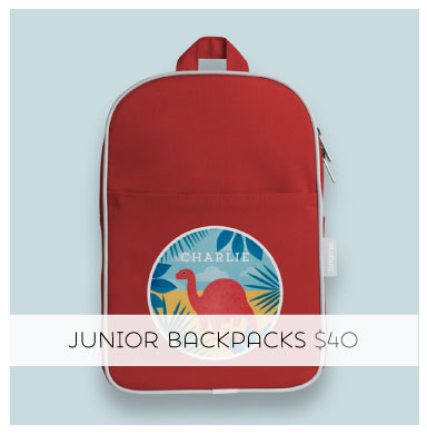Personalized Junior Backpack