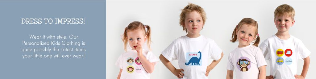 Wear it in style with Tinyme Personalized Tshirts for Kids
