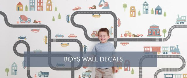 Boys Wall Decals from Tinyme