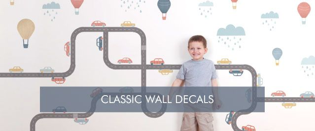 Classic Wall Decals from Tinyme