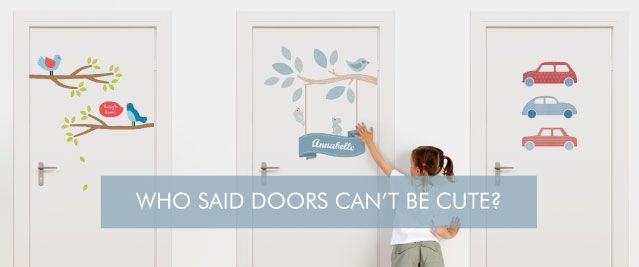 Door Decals for Kids Rooms