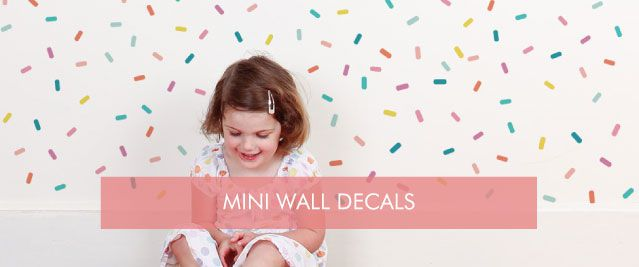 Mini Wall Decals from $10