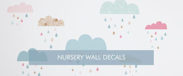 Nursery Wall Decals from Tinyme