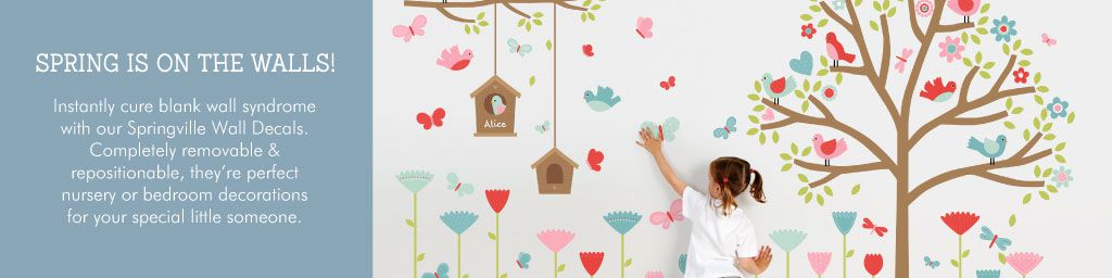 Springville Wall Decals from Tinyme