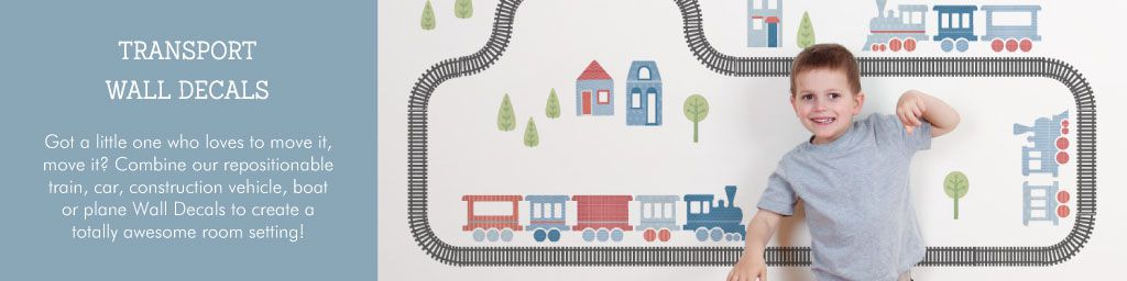 Transport Wall Decals from Tinyme