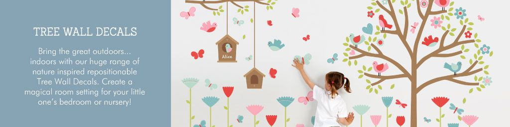 Tree Wall Decals from Tinyme
